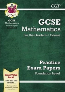 New GCSE Maths Practice Papers: Foundation - For the Grade 9-1 Course, Paperback / softback Book