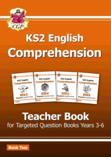 New KS2 English Targeted Comprehension: Teacher Book 2, Years 3-6, Paperback / softback Book