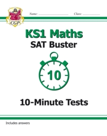 New KS1 Maths SAT Buster: 10-Minute Tests (for tests in 2018 and beyond), Paperback Book