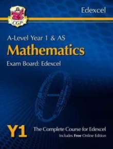 New A-Level Maths for Edexcel: Year 1 & AS Student Book with Online Edition, Mixed media product Book