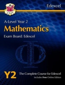 New A-Level Maths for Edexcel: Year 2 Student Book with Online Edition, Mixed media product Book