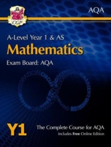 New A-Level Maths for AQA: Year 1 & AS Student Book with Online Edition, Mixed media product Book