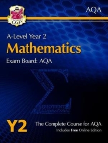 A-Level Maths for AQA: Year 2 Student Book with Online Edition, Mixed media product Book