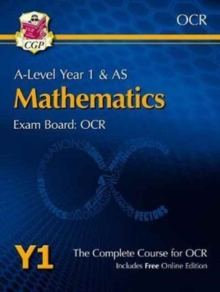 New A-Level Maths for OCR: Year 1 & AS Student Book, Mixed media product Book