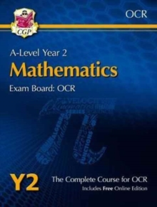 A-Level Maths for OCR: Year 2 Student Book with Online Edition, Mixed media product Book