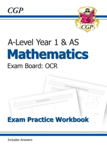 New A-Level Maths for OCR: Year 1 & AS Exam Practice Workbook, Paperback / softback Book
