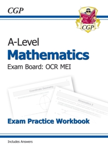 A-Level Maths for OCR MEI: Year 1 & 2 Exam Practice Workbook, Paperback / softback Book