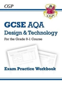 New Grade 9-1 GCSE Design & Technology AQA Exam Practice Workbook, Paperback Book