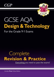 New Grade 9-1 Design & Technology AQA Complete Revision & Practice (with Online Edition), Mixed media product Book