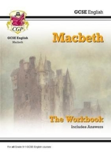 New Grade 9-1 GCSE English Shakespeare - Macbeth Workbook (includes Answers), Paperback Book