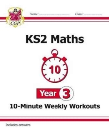 New KS2 Maths 10-Minute Weekly Workouts - Year 3, Paperback / softback Book