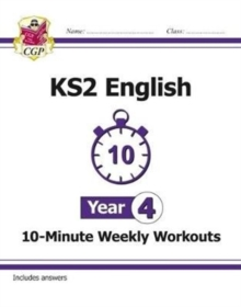 New KS2 English 10-Minute Weekly Workouts - Year 4, Paperback / softback Book