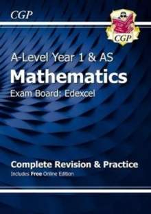 New A-Level Maths for Edexcel: Year 1 & AS Complete Revision & Practice with Online Edition, Mixed media product Book