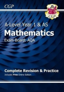 New A-Level Maths for AQA: Year 1 & AS Complete Revision & Practice with Online Edition, Mixed media product Book