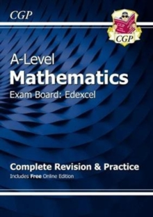 A-Level Maths for Edexcel: Year 1 & 2 Complete Revision & Practice with Online Edition, Mixed media product Book