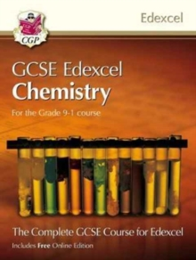 New Grade 9-1 GCSE Chemistry for Edexcel: Student Book with Online Edition, Paperback Book