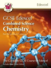 Grade 9-1 GCSE Combined Science for Edexcel Chemistry Student Book with Online Edition, Paperback / softback Book