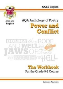 New GCSE English Literature AQA Poetry Workbook: Power & Conflict Anthology (Includes Answers), Paperback / softback Book