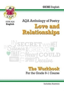New GCSE English Literature AQA Poetry Workbook: Love & Relationships Anthology (Includes Answers), Paperback Book