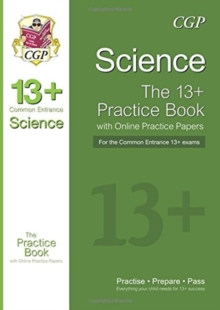New 13+ Science Practice Book for the Common Entrance Exams with Answers & Online Practice Papers, Paperback / softback Book