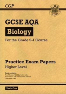 New Grade 9-1 GCSE Biology AQA Practice Papers: Higher Pack 1, Paperback Book
