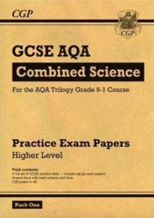 New Grade 9-1 GCSE Combined Science AQA Practice Papers: Higher Pack 1, Paperback Book