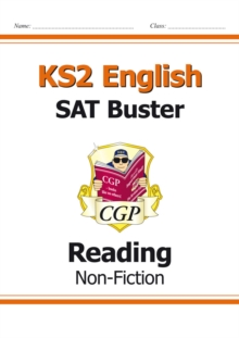 New KS2 English Reading SAT Buster: Non-Fiction (for the 2019 tests), Paperback / softback Book