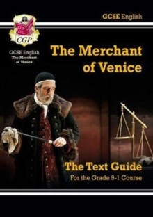 Grade 9-1 GCSE English Shakespeare Text Guide - The Merchant of Venice, Paperback Book