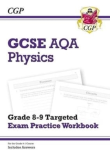 New GCSE Physics AQA Grade 8-9 Targeted Exam Practice Workbook (includes Answers), Paperback Book