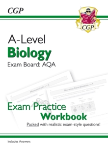 New A-Level Biology for 2018: AQA Year 1 & 2 Exam Practice Workbook - includes Answers, Paperback / softback Book