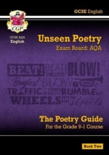 New Grade 9-1 GCSE English Literature AQA Unseen Poetry Guide - Book 2, Paperback Book