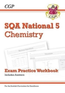 New National 5 Chemistry: SQA Exam Practice Workbook - includes Answers, Paperback / softback Book