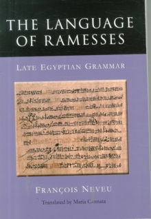 The Language of Ramesses, Paperback Book