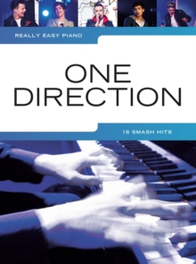 Really Easy Piano : One Direction, Paperback / softback Book