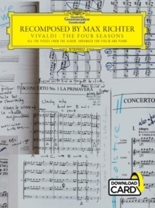 Recomposed By Max Richter : Vivaldi, The Four Seasons (Book/Audio Download), Paperback / softback Book