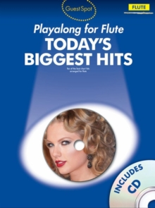 Guest Spot Today's Biggest Hits : Flute, Paperback / softback Book