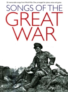 Songs Of The Great War (PVG), Paperback Book