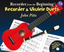 Recorder from the Beginning : Recorder and Ukulele Duets (Book/CD), Mixed media product Book