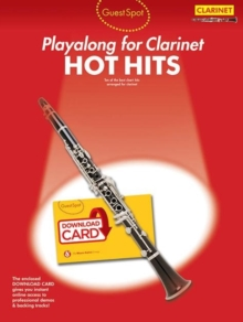 Guest Spot : Hot Hits - Clarinet (Book/Audio Download), Mixed media product Book