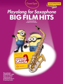 Guest Spot : Big Film Hits Playalong for Alto Saxophone (Book/Audio Download), Mixed media product Book