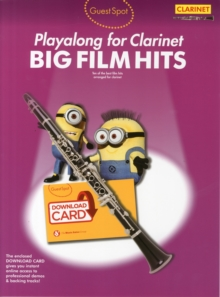 Guest Spot : Big Film Hits Playalong For Clarinet (Book/Audio Download), Paperback / softback Book