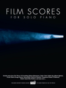 Film Scores For Solo Piano (Book/Audio Download), Paperback Book