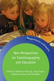 New Perspectives on Translanguaging and Education, PDF eBook