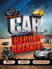 Car Record Breakers, Paperback / softback Book