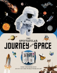 Paperscapes: The Spectacular Journey into Space, Hardback Book