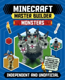 Minecraft Master Builder: Monsters, Paperback / softback Book