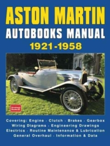 ASTON MARTIN AUTOBOOKS MANUAL 1921-1958, Hardback Book