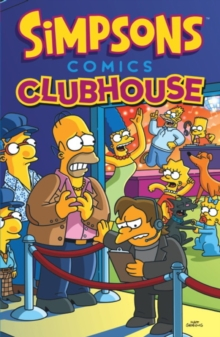 Simpsons - Comics Clubhouse, Paperback Book