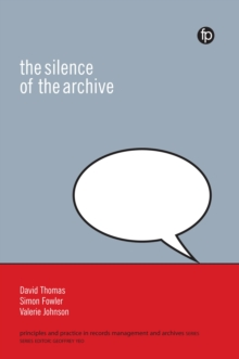 The Silence of the Archive, PDF eBook