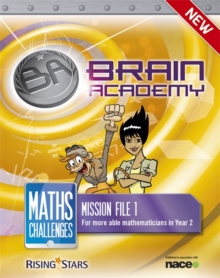 Brain Academy: Maths Challenges Mission File 1, Paperback Book